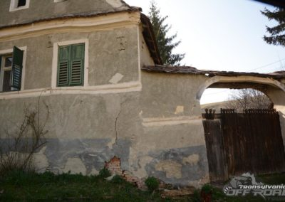 Old Saxon House in Transylvania