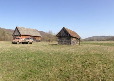 Shepherds' Hut in Transylvania