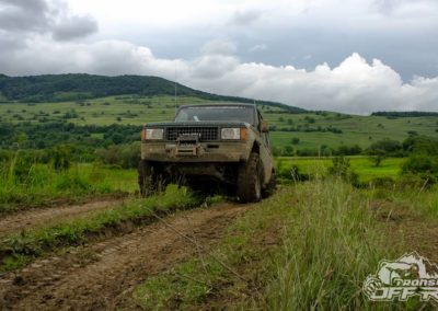 Offroading in Transylvania