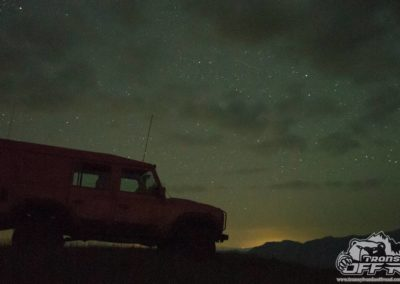 Night Photo Landrover